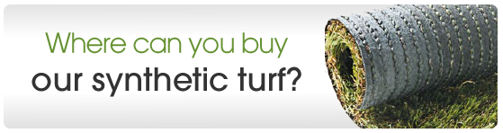 Where can you buy our synthetic turf?
