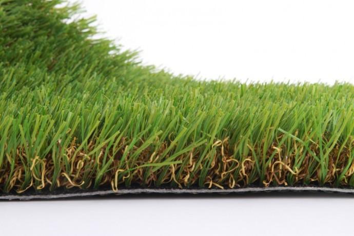 Pelouse artificielle iris luxe vente de fausse pelouse for Jardin gazon synthetique
