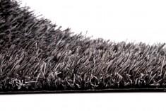 Grey artificial turf