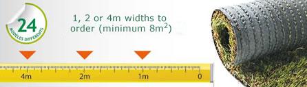 Découpe de gazon synthétique sur mesure