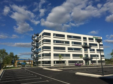 Aménagement du siège social de l'entreprise CHAUSSON MATERIAUX à Saint Alban (31)