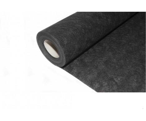 Feutre géotextile noir anti-herbe 1m x 25m