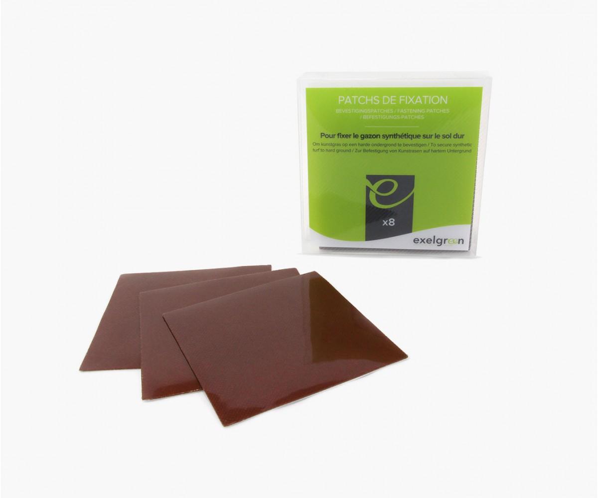 Patchs de fixation (boite de 8)