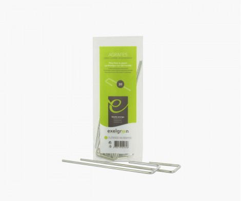 Galvanised staples - pack of 20