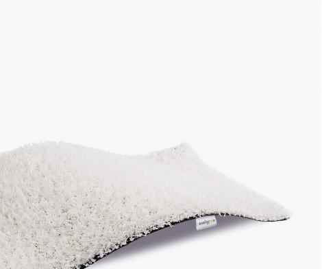 Gazon Synthétique Décoration Blanc