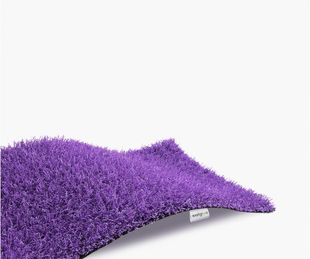 Gazon Synthétique Décoration Violet