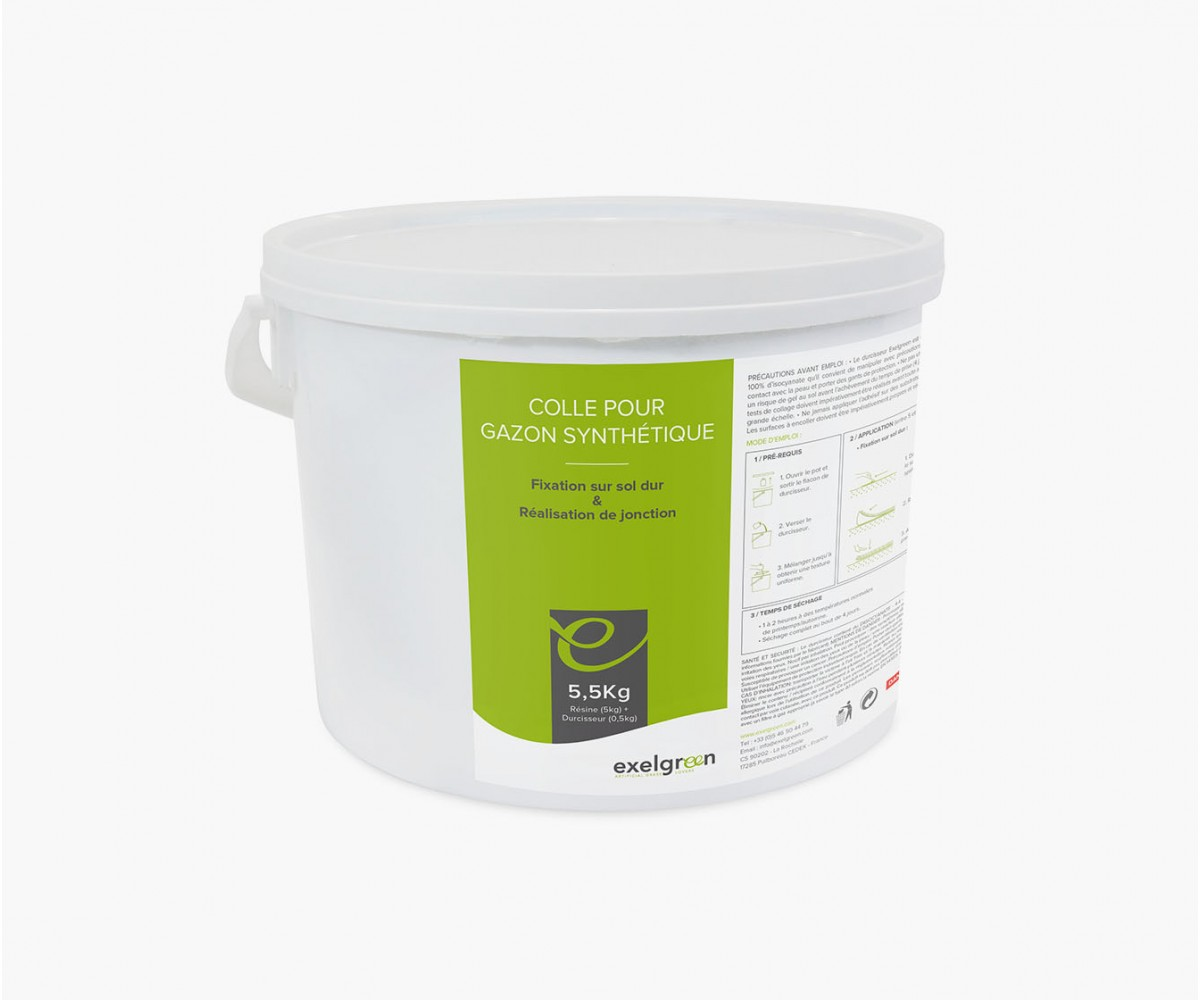 Pot de colle 5,5 kg de Résine polyuréthane
