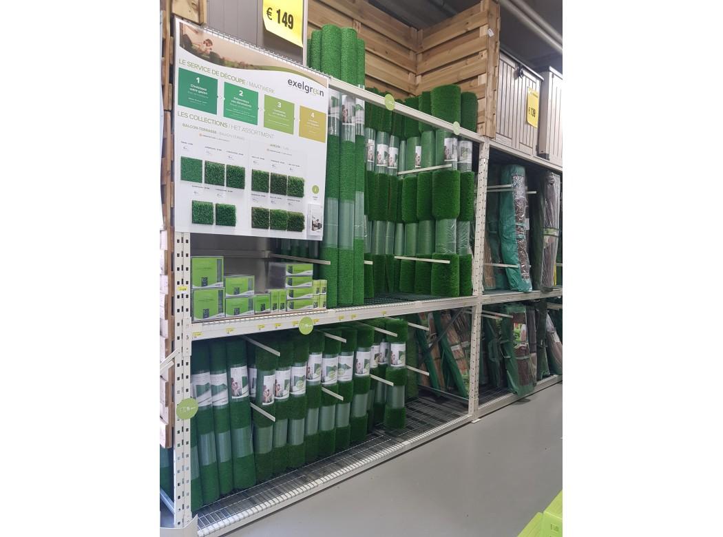 Revendeurs gazon synthétique - Exelgreen